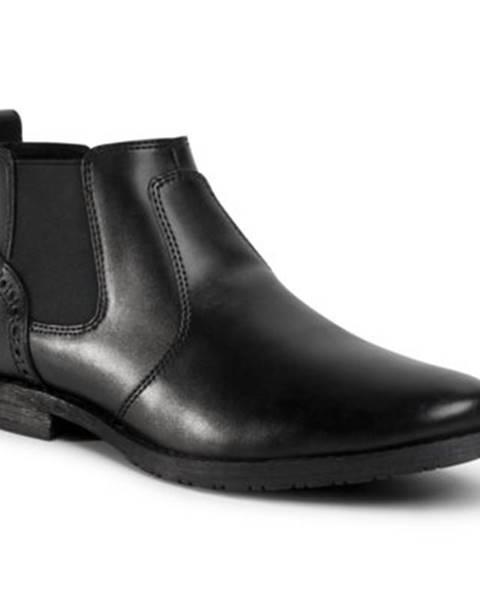 Čierne topánky Lanetti