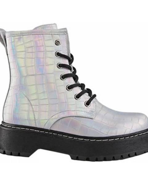 Strieborné topánky DeeZee