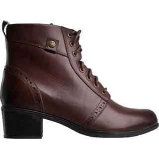 Šnurovacia obuv Lasocki EST-GUSTA-03 Prírodná koža(useň) - Lícova