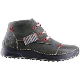 Šnurovacia obuv Rieker 51534-54 Ekologická koža/-Ekologická koža