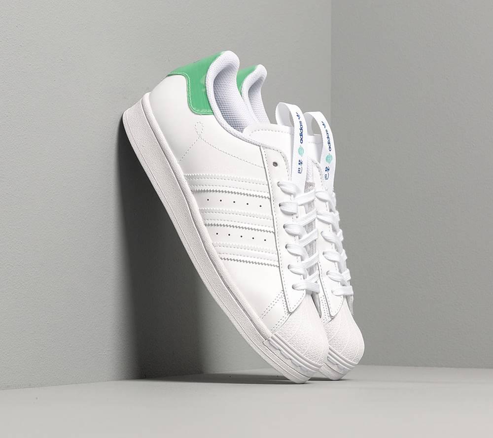 adidas Originals adidas Superstar Ftwr White/ Prism Mint/ Collegiate Royal