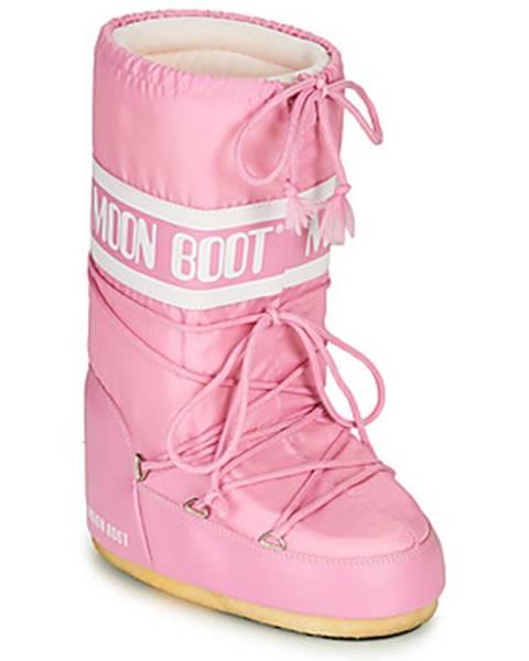 Ružové topánky Moon Boot