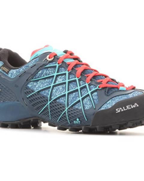 Modré topánky Salewa