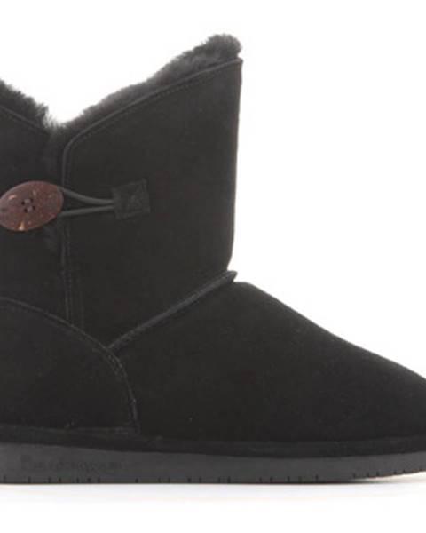 Čierne topánky Bearpaw