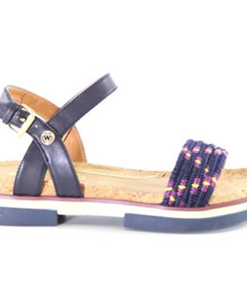 Modré sandále Wrangler