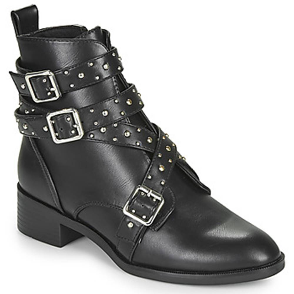 Only Polokozačky Only  BRIGHT 14 PU STUD BOOT