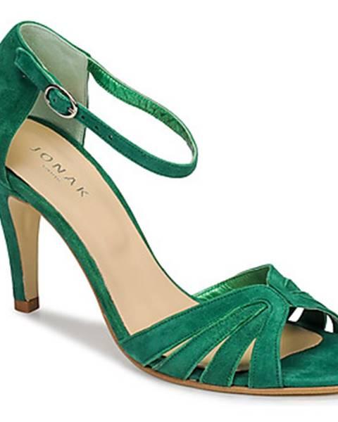 Zelené sandále Jonak