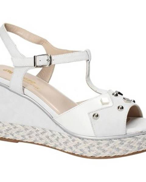 Biele sandále Melluso