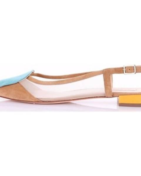 Viacfarebné sandále Fabio Rusconi