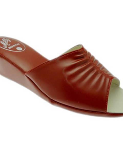 Červené topánky Milly