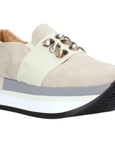 Béžové espadrilky Grace Shoes