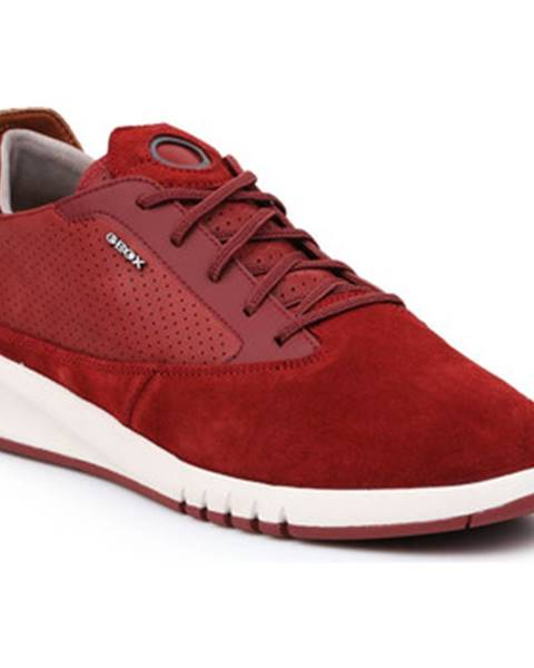 Červené tenisky Geox
