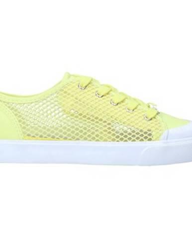 Žlté tenisky Guess