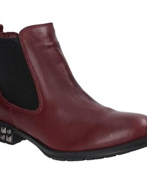 Červené topánky Bueno Shoes
