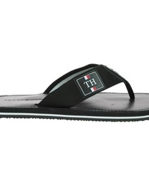 Čierne topánky Tommy Hilfiger