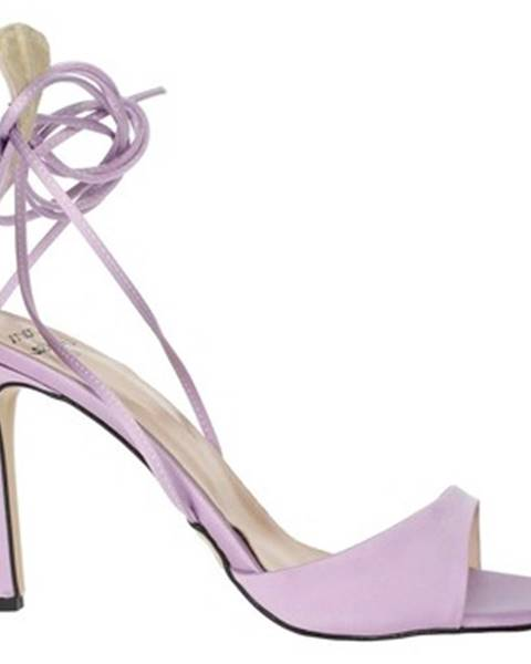 Fialové sandále Maksa