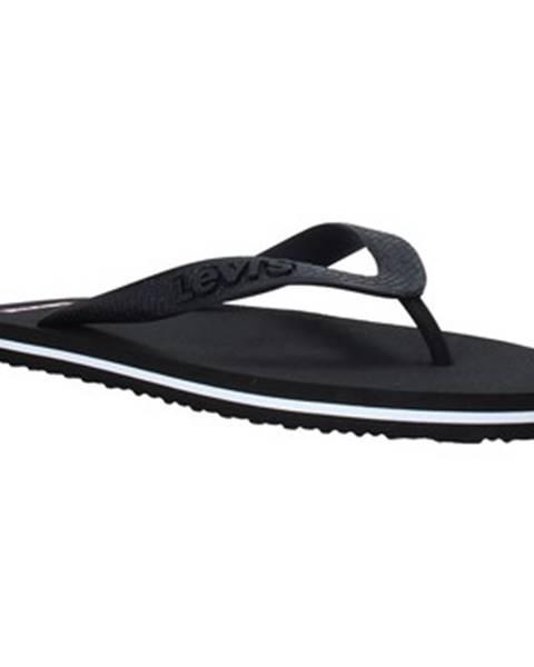 Čierne topánky Levis