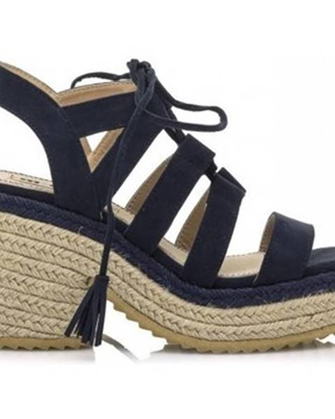 Modré sandále MTNG