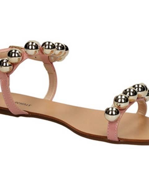 Ružové sandále Schutz