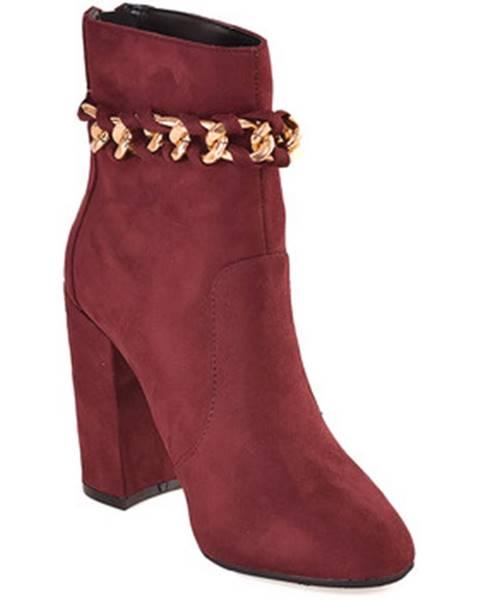 Fialové topánky Gattinoni
