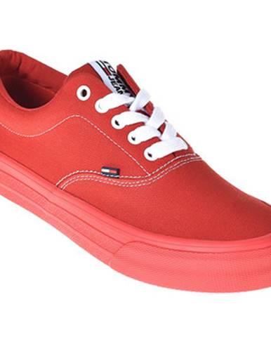 Červené tenisky Tommy Hilfiger