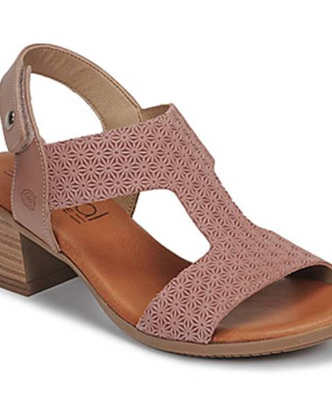Ružové sandále Casual Attitude