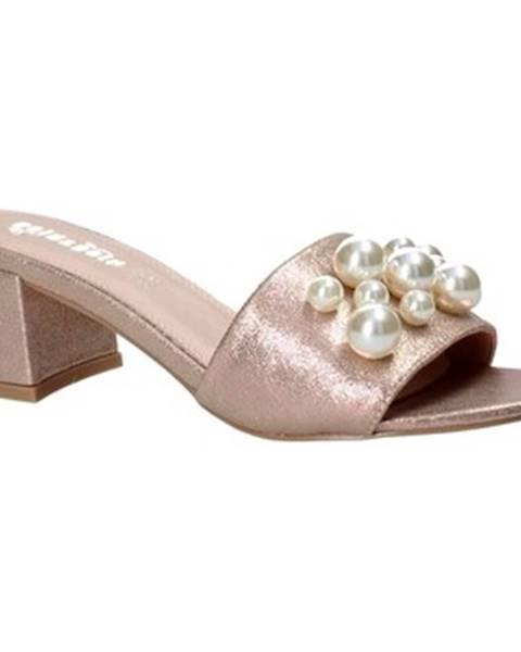 Ružové topánky Gold gold