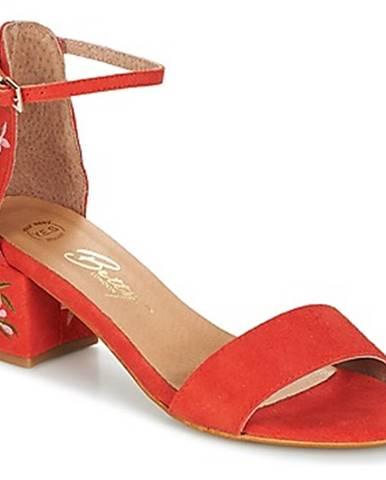 Oranžové sandále Betty London