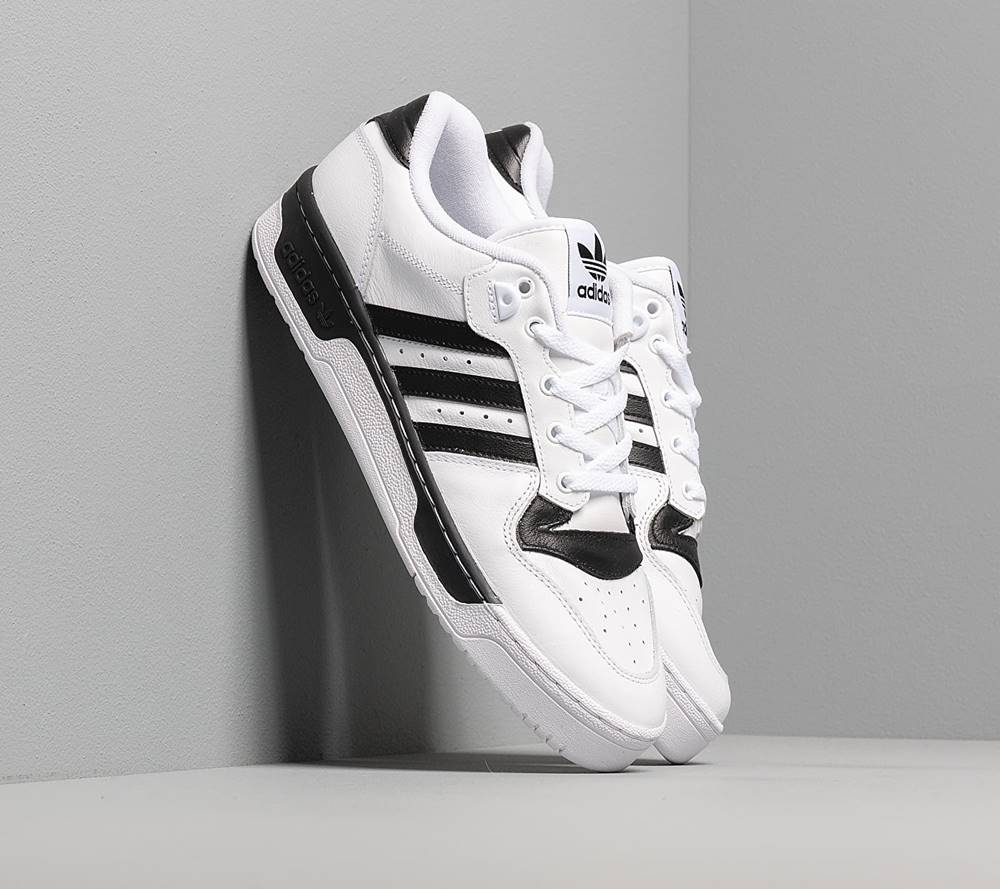 adidas Originals adidas Rivalry Low Ftw White/ Ftw White/ Core Black