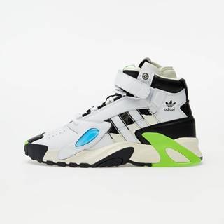 adidas x Sankuanz Streetball Forum Ftwr White/ Silver Metalic/ Solar Green