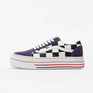 Vans Super ComfyCush Old Skool (Suede) Purple Checkerboard