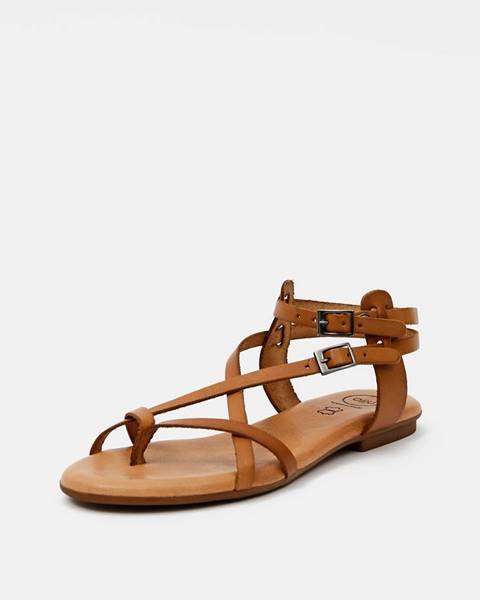 Svetlohnedé sandále OJJU