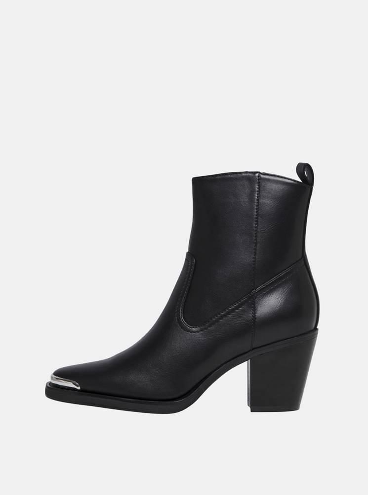 Only Čierne členkové topánky ONLY Belize