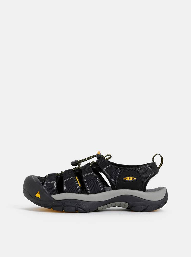 Keen Čierne pánske sandále Keen Newport
