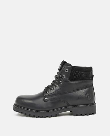 Čierna zimná obuv Wrangler