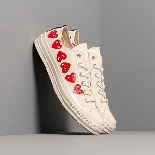 x Comme des Garcons PLAY Chuck 70 Egret/ High Risk Red