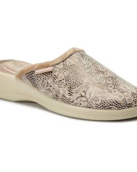 Béžové papuče Home&Relax