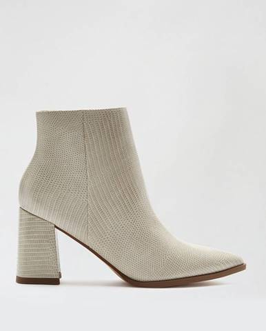 Béžové topánky Dorothy Perkins