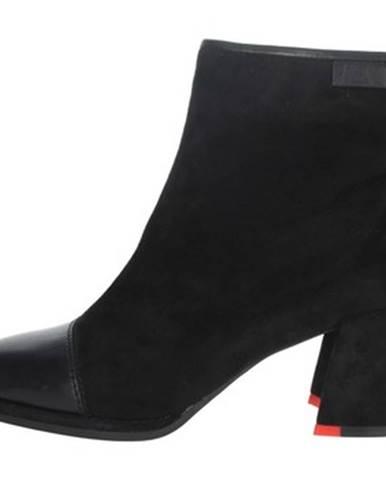Čierne topánky Nina Capri