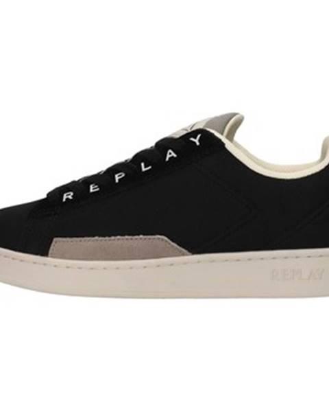 Čierne tenisky Replay