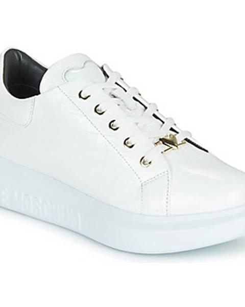 Biele tenisky Love Moschino