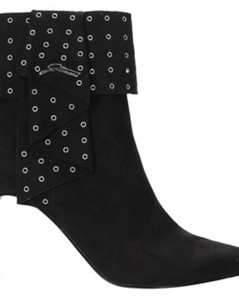 Čierne topánky Gattinoni