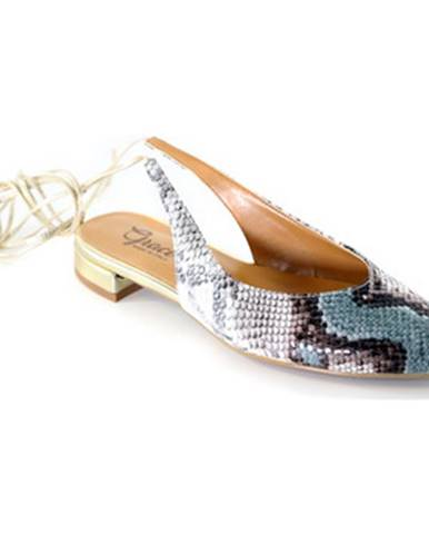 Hnedé lodičky Grace Shoes