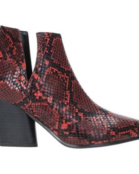 Červené čižmy Grace Shoes