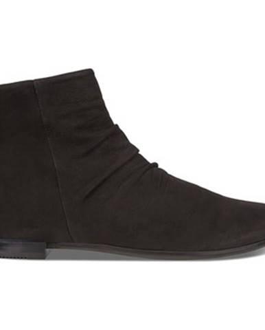 Čierne topánky Ecco