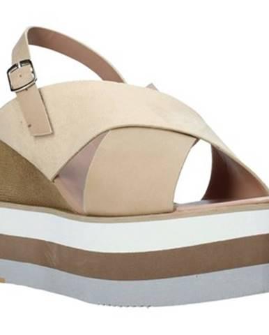 Béžové sandále Onyx
