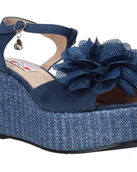 Modré sandále Love To Love