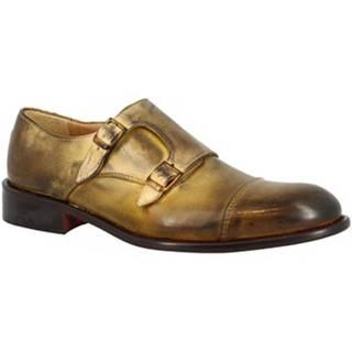 Derbie Leonardo Shoes  T112 SIVIGLIA GIALLO