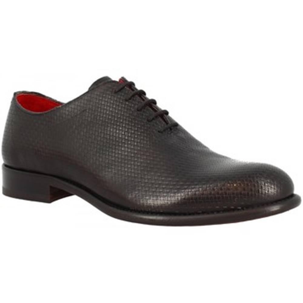 Leonardo Shoes Richelieu Leonardo Shoes  7665 MONTECARLO NERO