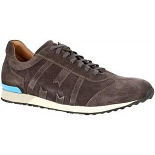 Nízke tenisky Leonardo Shoes  6109 CAMOSCIO GRIGIO